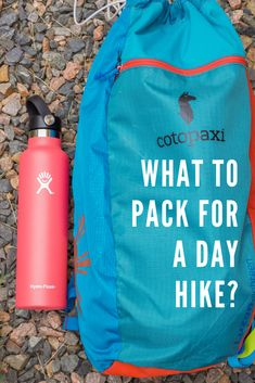 """I've been hiking a TON this summer! Packing these hiking essentials will help you avoid the dreaded question, """"what to pack on a hike"""", read my summer day pack essentials list! Hiking just got a whole lot easier! Mountain Hiking Outfit, Cute Hiking Outfit, Summer Hiking Outfit, Outfit Winter, Hiking Outfits, Cancun Outfits, Hiking With Kids, Camping And Hiking, Winter Hiking"""