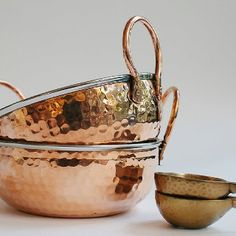 Gorgeous copper bowls @ LivedIn Coogee