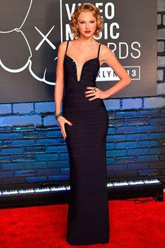 La red carpet de los VMAs 2013: Taylor Swift