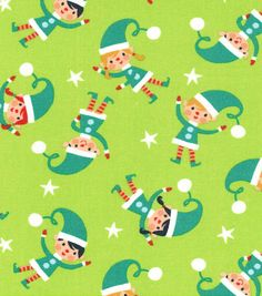 Holiday Inspirations Christmas Fabric Quilters Christmas Elf TossHoliday Inspirations Christmas Fabric Quilters Christmas Elf Toss,