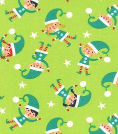 Tumbling Elves- Joanns Fabrics 2014