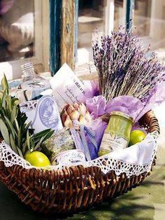 beautiful & healthy present basket, pa.