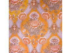 Brunschwig & Fils CORBEILLE DE FLEURS COTTON PRINT GOLDEN YELLOW BR-79611.333 - Brunschwig & Fils - Bethpage, NY, BR-79611.333,Brunschwig & Fils,Print,Yellow,Yellow,S (Solvent or dry cleaning products),Up The Bolt,France,Toile,Multipurpose,Yes,Brunschwig & Fils,No,CORBEILLE DE FLEURS COTTON PRINT GOLDEN YELLOW