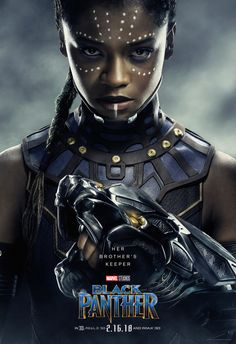 BLACK PANTHER Character Posters Spotlight The Various Heroes And Villains Of Marvel's Next Adventure