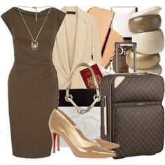 chocolate and beige
