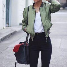 Bomber jacket, son la onda ♥