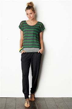 Sweat pants nice enough to wear out to the shops? Black jersey Hareem trousers from Next. Visit www.mumsnet.com/... for more style and beauty recommendations