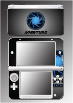 Portal-2-Gladdos-Aperture-Laboratories-Video-Game-Skin-Decal-for-Nintendo-3DS-XL