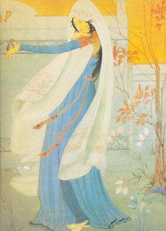 Mohammed Abdur Rahman Chugtai - Omar Khayyam, 20th century