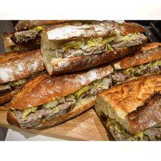パテドカンパーニュのバゲットサンドイッチ