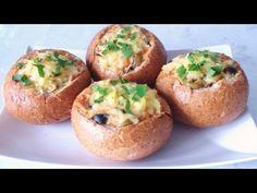 Reteta Chifle umplute - Baked rolls - خبيزات معمرين - YouTube