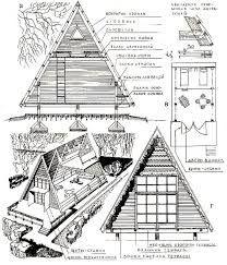 Free a frame cabin plans blueprints construction documents sds imagen relacionada malvernweather Gallery