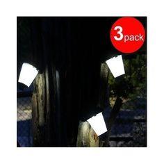 3 Garden Light LED Outdoor Hanging Solar Lantern Home Decor Hexagon Tree Hanger