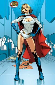 Back In The Boob Window – Power Girl Gets Dressed In Supergirl #19