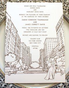 Gorgeous NYC letterpress