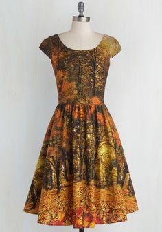 $45 nwot  Sights to Season Dress, #ModCloth size large