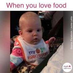 When you love food – funny kids Cute Funny Baby Videos, Funny Baby Memes, Cute Funny Babies, Funny Videos For Kids, Funny Short Videos, Funny Video Memes, Crazy Funny Memes, Really Funny Memes, Haha Funny