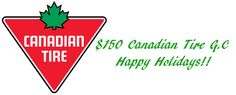 $150 Canadian Tire Gift Certificate US/Can 12/1 Canadian Tire, Christmas Toys, Gift Certificates, Wall Sticker, Giveaways, Playing Cards, Memories, Spaces, Film