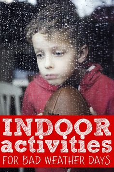 If you're looking for boredom busters for rainy, snowy, and downright miserable days when you can't be bothered to get off the couch, this list of 25 indoor activities for kids is for you! We're totally trying #12 today!