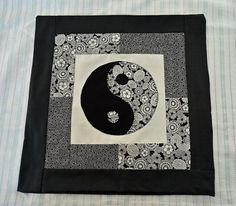 funda para cojín técnica del patchwork  textil técnica del patchwork
