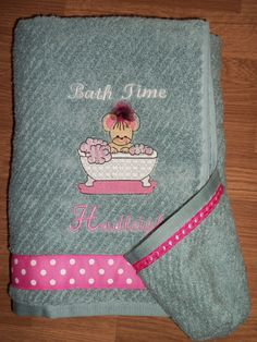 Hooded Bath Towel by suejodesigns on Etsy, $30.00
