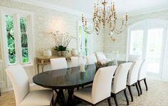 J.K. Kling dining room, light dining room