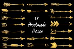 18 Free Handmade Arrows Brushes Watercolor Brushes, Photoshop Brushes, Creative Photos, Traditional Art, Arrows, Overlays, Photo Editing, Digital Art, Commercial