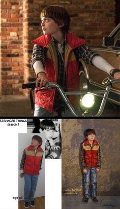 Will from 'Stranger Things' (2016). Costume Design by Malgosia Turzanska and Kimberly Adams-Galligan.
