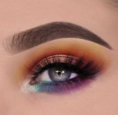 me gusta, 55 comentarios - make up vibe ❤ 🙏 👉 ( Dramatic Eyeshadow, Purple Eyeshadow, Cool Makeup Looks, Cute Makeup, Makeup Stuff, Fancy Makeup, Makeup Goals, Makeup Inspo, Makeup Inspiration