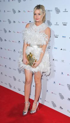 Fabulously Spotted: Laura Whitmore Wearing Nicholas Oakwell Couture - WGSN Global Fahsion awards  - http://www.becauseiamfabulous.com/2013/10/laura-whitmore-wearing-nicholas-oakwell-couture-wgsn-global-fahsion-awards/
