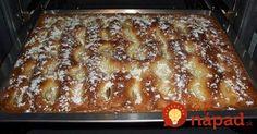 Koláč chutnejší ako torta: Krémový jablčník so smotanovou náplňou!