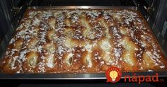 Šľachtický jablčník - fantastický dezert z maslového cesta, sladkých jabĺčok a smotanovej náplne.