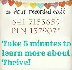 Learn about the THRIVE Experience!