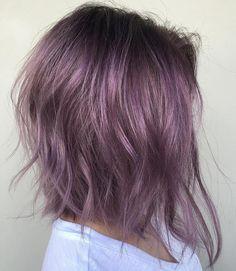 Purple+Angled+Bob