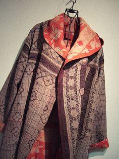 MIEKO MINTZ - kantha stitch jacket