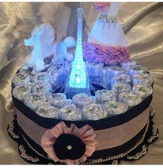 Pamper Cake, Paris Theme, Diys, Children, Party, Young Children, Boys, Bricolage, Kids