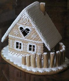 52 Unique DIY Gingerbread House Ideas in Your Decor - Gingerbread Dough, Gingerbread Village, Christmas Gingerbread House, Gingerbread Cookies, Ginger Bread House Diy, Ginger House, Ginger Bread House Decorations, Christmas Goodies, Christmas Treats