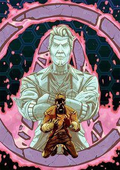 Borderlands 1, Tales From The Borderlands, Handsome Jack, Funny Images, Video Games, Fandoms, Princess Zelda, Hero, Wallpapers