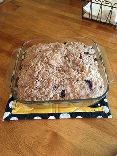 Delicious Amish Blueberry Cake - Amish 365: Amish Recipes - Amish Cooking