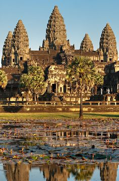 Angkor Wat, Laos, History Of Buddhism, Ancient History, Vietnam, Permanent Vacation, Architecture Old, Drawing Architecture, Viajes