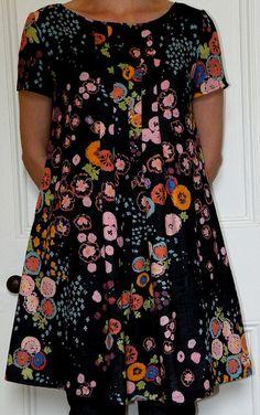 beautiful dress made with Nani Iro