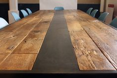 dining room table recycled wood | Reclaimed Wood Table - modern - dining tables - new york - by red.