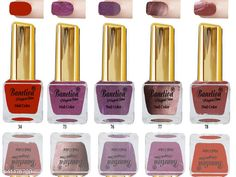 Nails Banetion Exclusive Long Lasting Nail Paint Combo Brand Name: Benetion Color: Multicolor Type: Matte Multipack: Combo Pack of 6 Capacity: 6 ml Each Country of Origin: India Sizes Available: Free Size *Proof of Safe Delivery! Click to know on Safety Standards of Delivery Partners- https://ltl.sh/y_nZrAV3  Catalog Rating: ★4.1 (1819)  Catalog Name: Free Gift Exclusive Bright Nail Polish CatalogID_2156589 C51-SC1244 Code: 551-11475799-