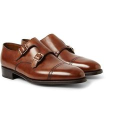 Good shoes are a must. John Lobb - Phillip II Leather Monk-Strap Shoe