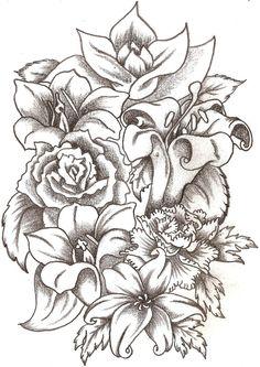 Floral Bouquet by TheLob.deviantart.com on @deviantART