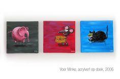 Schilderijtjes voor de kinderkamer van Minke