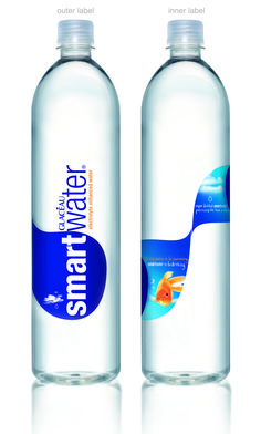 I read that bottled water takes the taste of the plastic bottle. If this is true, Smart Water has the best flavored plastic. I love Smart Water!