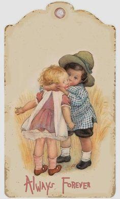 Vintage Printable, Vintage Labels, Vintage Crafts, Vintage Dolls, Gift Labels, Gift Tags, Card Sentiments, Children Images, Printing Labels