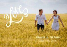 Photo Save the Date postcard #wedding #savethedate #zoggin