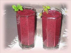Koktajl jagodowy ( borówkowy )